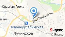 Шиномонтажная мастерская на ул. Панфилова на карте