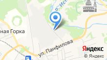Русские Стеклопакеты, ЗАО на карте