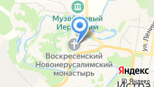 Собор Воскресения Христова на карте