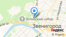 Судебный участок №58 мирового судьи Звенигородского судебного района Московской области на карте