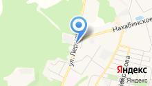 Звенигородская похоронная служба на карте