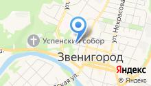 220 вольт - электромонтажные работы в Звенигороде на карте