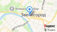 Храм Вознесения Господня в Звенигороде на карте
