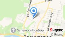 ЗФЭК на карте
