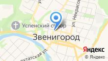 Звенигородский отдел Управления Федеральной службы государственной регистрации на карте