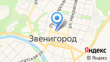 Звенигородские ведомости на карте