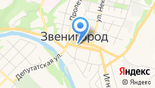 Доставка воды Звенигород на карте