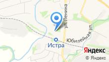 Истринский районный отдел судебных приставов на карте