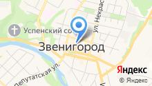 Звенигородский кинологический центр на карте
