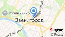 Администрация городского округа Звенигород на карте