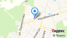 Нахабинский на карте