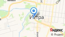 Кика на карте