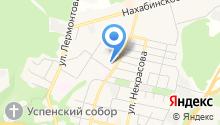Звенигородская центральная городская больница на карте