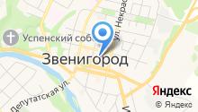 Звенигородская ковка на карте