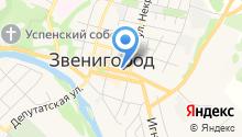 Кофейный Домъ Звенигородъ на карте