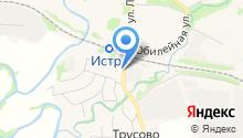 Учебно-консультационный пункт по ГО и ЧС Истринского района на карте