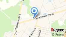 Магазин фастфудной продукции на карте