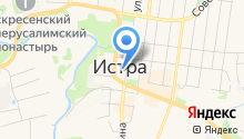IstraNet на карте