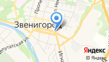 Славянское Звенигород на карте