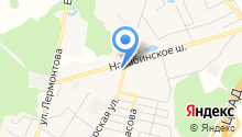 Звенигородская районная эксплуатационная служба на карте