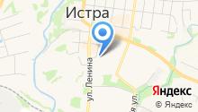 Истринский центр занятости населения на карте