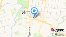Отдел вневедомственной охраны при УВД Истринского района на карте
