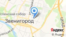 Звенигородский городской суд на карте