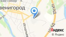 Автодор-ККБ Звенигород на карте