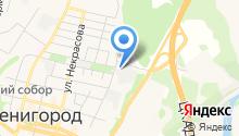 Хлебница-Звенигород на карте