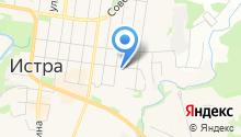 Истринская ДЮСШ на карте