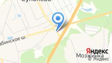 Моника на карте