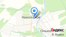 Никольский храм на карте
