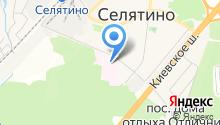 Селятинская районная больница на карте