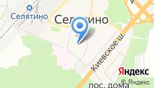 Селятинская общеобразовательная школа №2 на карте