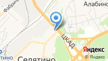 АЗС Мега Ойл на карте