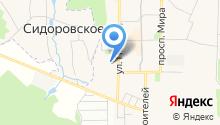 Теплосервис, МУП на карте