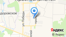 Мастерская по ремонту обуви и изготовлению ключей на Краснознаменной на карте
