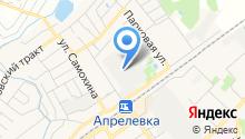 Апрелевская мебельная фабрика на карте