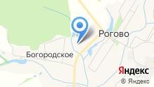 Кутузовские березы на карте