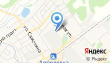 ЮНИЛОС на карте