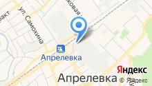 Общественная приемная депутата Совета депутатов городского поселения Апрелевка Девишевой Н.А. на карте
