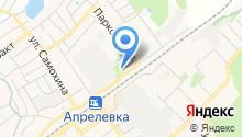 Апрелевский отдел Управления Федеральной службы государственной регистрации на карте