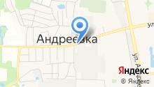 Андреевская городская похоронная служба на карте