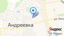 Первый Андреевский на карте