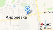 Андреевская городская поликлиника на карте