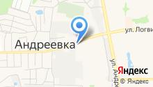 Мерси на карте