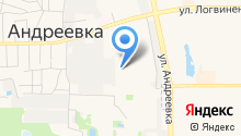 Андреевская на карте