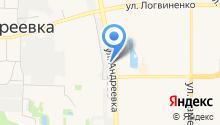 На Андреевке на карте