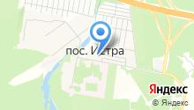 Почтовое отделение №143423 на карте