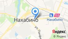 Нахабинская районная эксплуатационная служба на карте